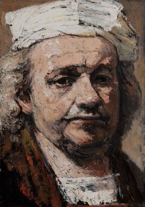 autorretro de Rembrandt