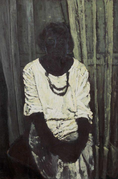 veiled portrait